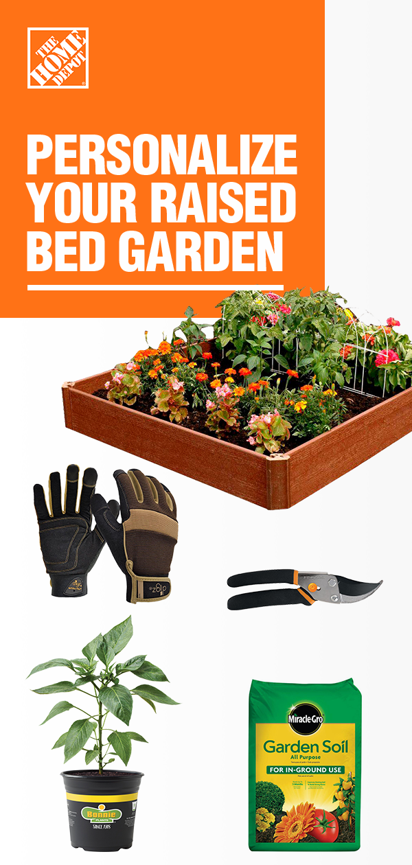 Personalize Your Raised Bed Garden Raised garden beds