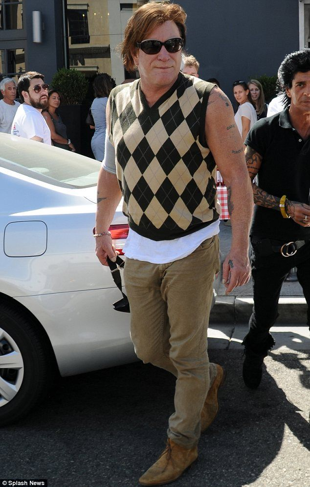 What a pity, Mickey! Mr Rourke misfires in checkered vest with no ...