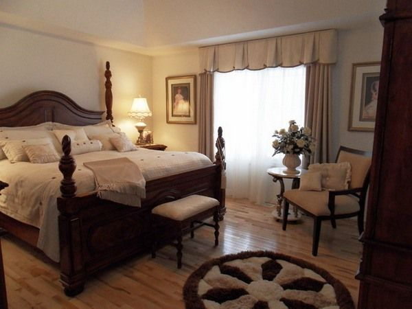 Brown furniture bedroom color ideas dark wall and black - Colors that go with brown bedroom furniture ...