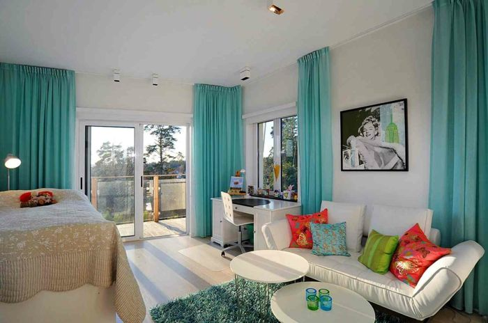 ▷ 1001+ designs stupéfiants pour une chambre turquoise | Living ...