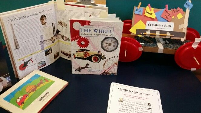 """Invention on Wheels"" display"