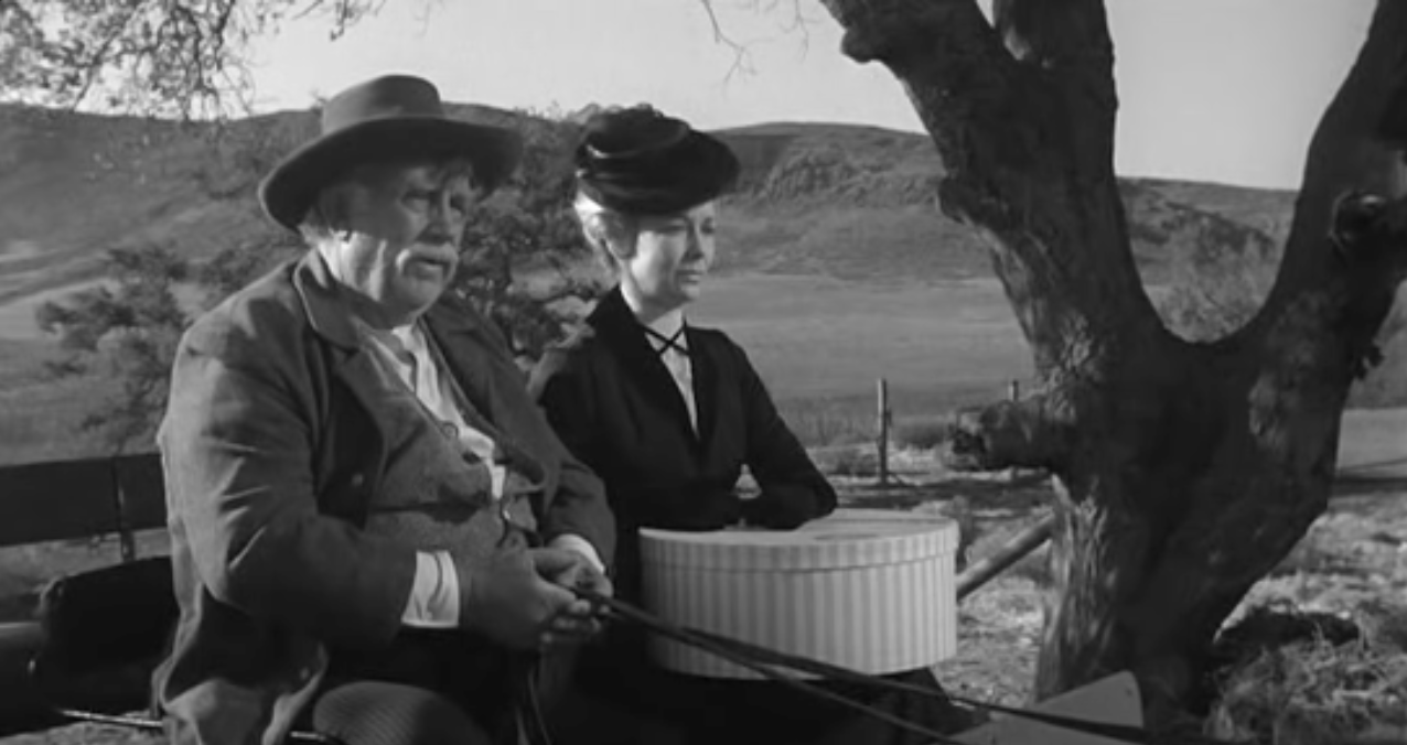 Andy Devine And Vera Miles In The Man Who Shot Liberty Valance