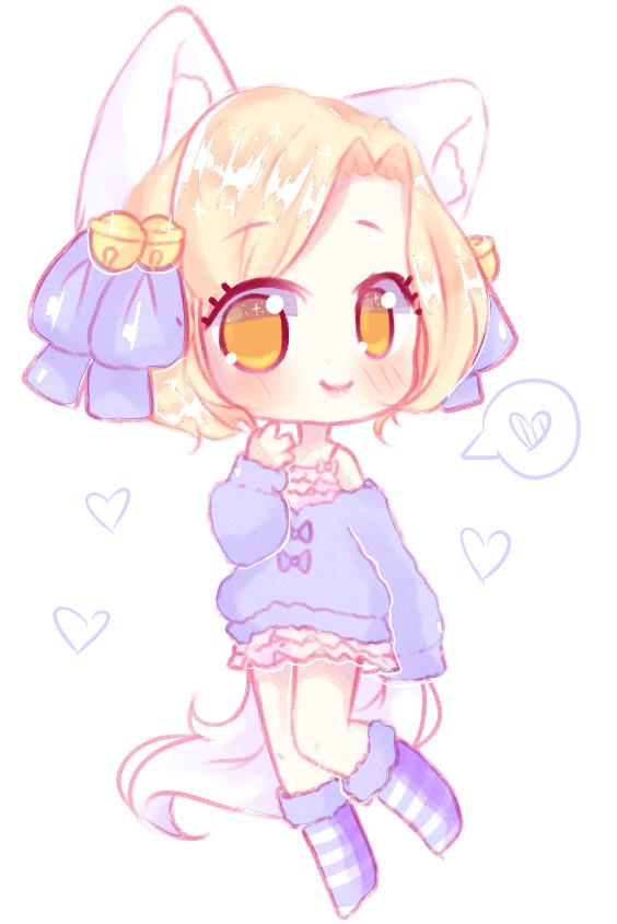 [C] Rinabell by Seraphychan Cute anime chibi, Cute