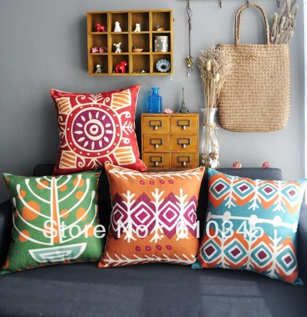 buy case store seat decorative geometric chair style linen product orange boho cushion pillows com from pillow couch aliexpress pillowcase nordic cover throw
