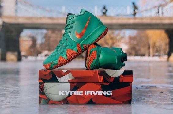 18415995c01d Get The Nike Kyrie 4 Fall Foliage PE Now