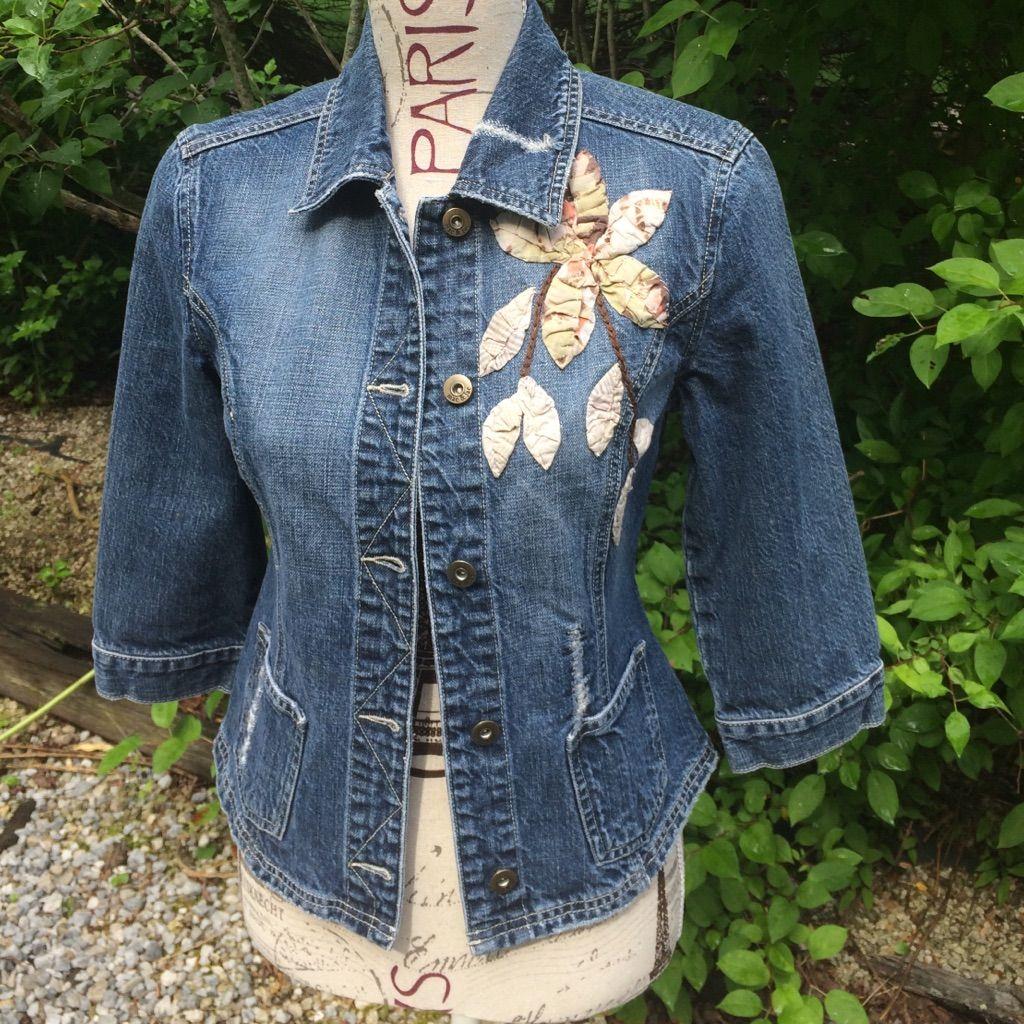 Great Embellished Jean Jacket!