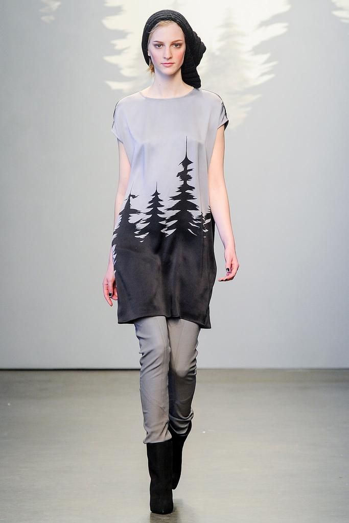 Tess Giberson Fall 2014 Ready-to-Wear - Collection - Gallery - Look 1 - Style.com