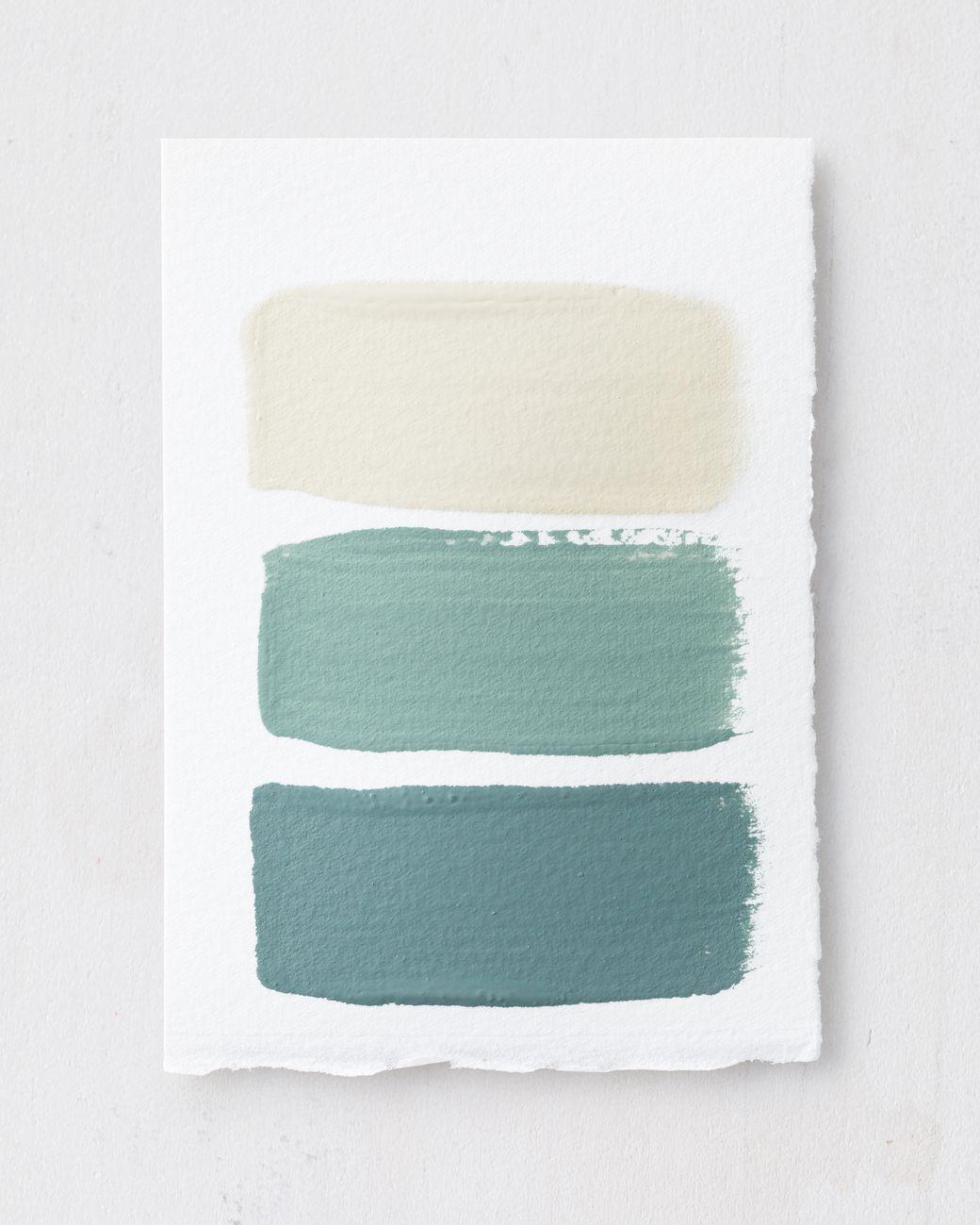 Blue Paint Swatches colors are: wall: dix blue (#82), farrowandball - similar to
