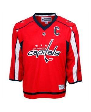 Reebok Kids  Alexander Ovechkin Washington Capitals Replica Jersey - Red  L XL 5b9e4e74d