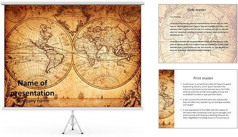 Vintage world map plantillas de presentaciones powerpoint y fondos vintage world map plantillas de presentaciones powerpoint y fondos gumiabroncs Choice Image