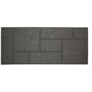 Best Envirotile 10 In X 24 In Cobblestone Gray Stair Tread 640 x 480