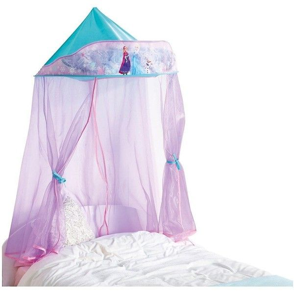 Disney Frozen Bed Canopy 43 Aud Liked On Polyvore Featuring
