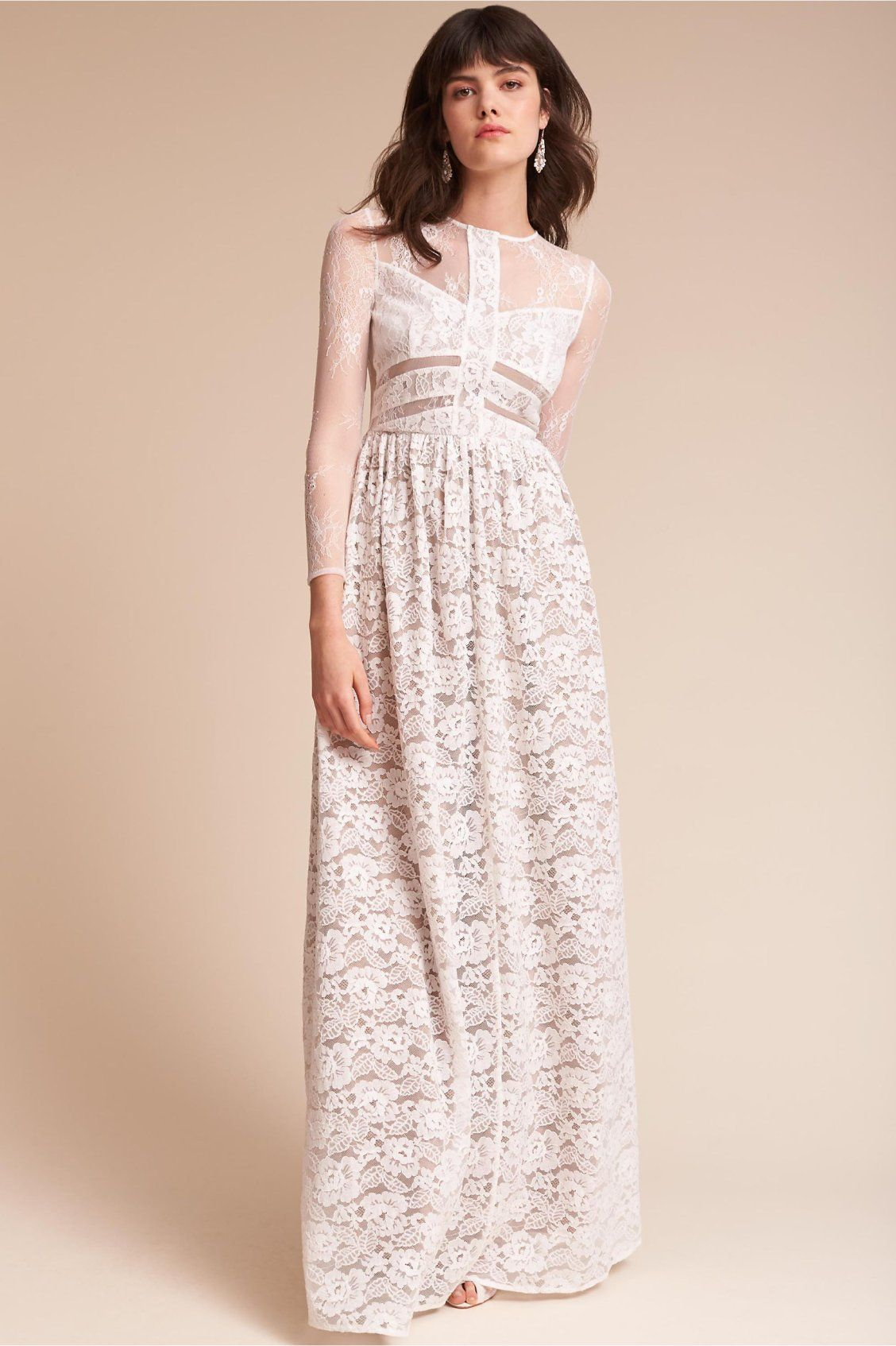 Noche Dress from BHLDN | Lace | Pinterest