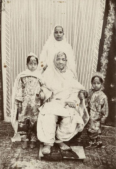 Sikh women, 19th century, Punjab