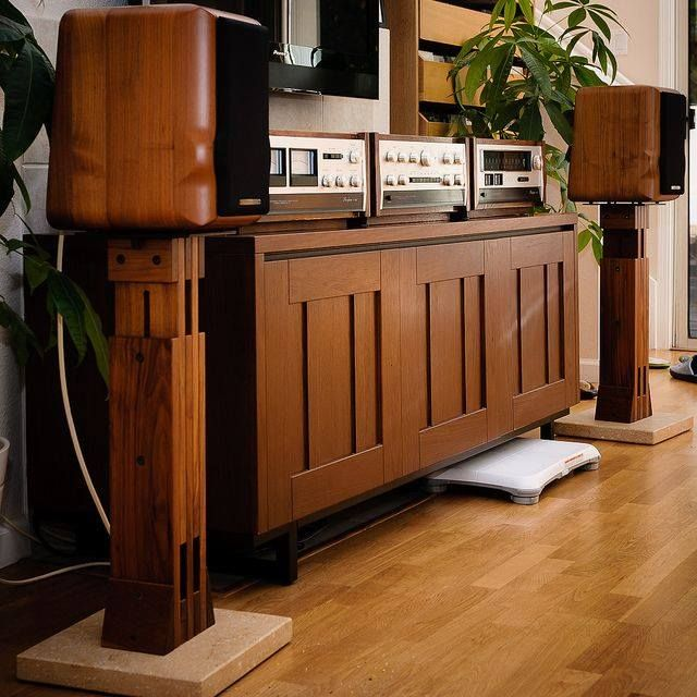 Sonus Faber Speaker & accuphase High end audio audiophile
