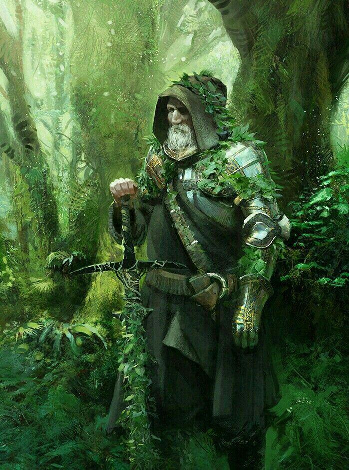 Fantasy Art Knight Old
