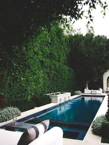 33 jardines con piscinas de ensueo piscinas jardin - Piscinas Jardin