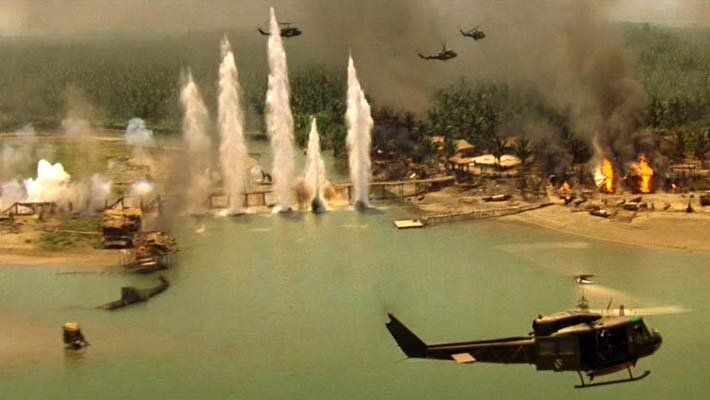 strafing Charlie's point in Apocalypse Now