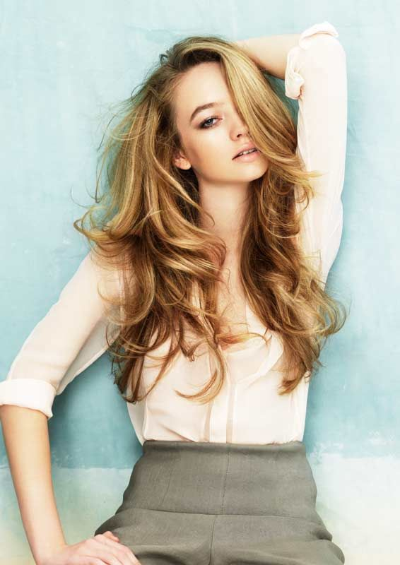 Powder Collection By Davines Honey Blonde Hair Hair Styles