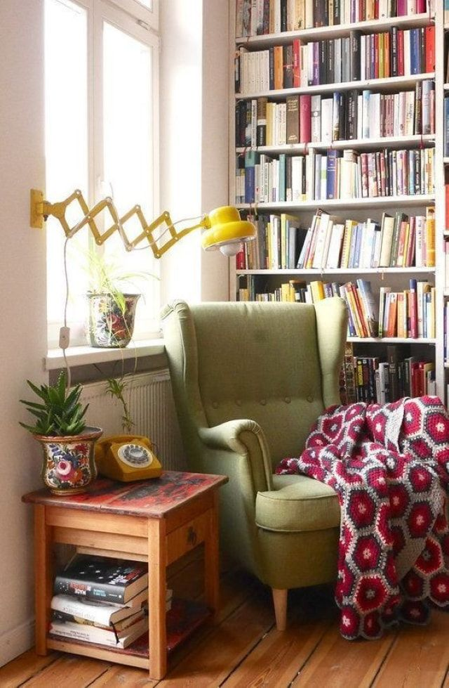 Home Decor - 35+ Home Design and Decoration Ideas For Reading Nook