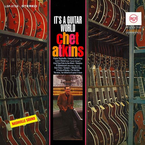 Chet Atkins - It's a Guitar World, 1950s/60s