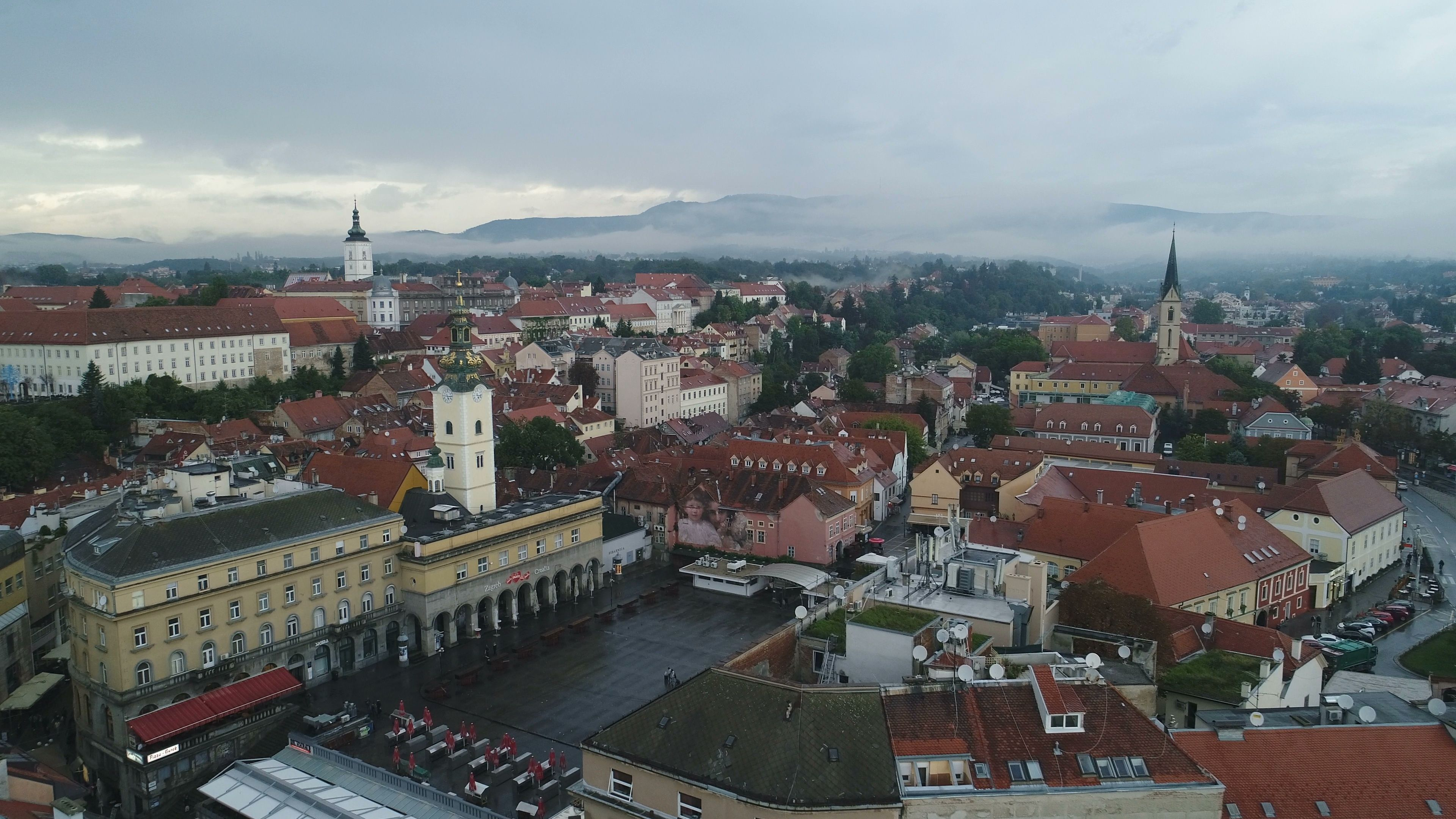 Zagreb Croatia Medieval Upper Town Explored Croatia Zagreb Zagreb Croatia