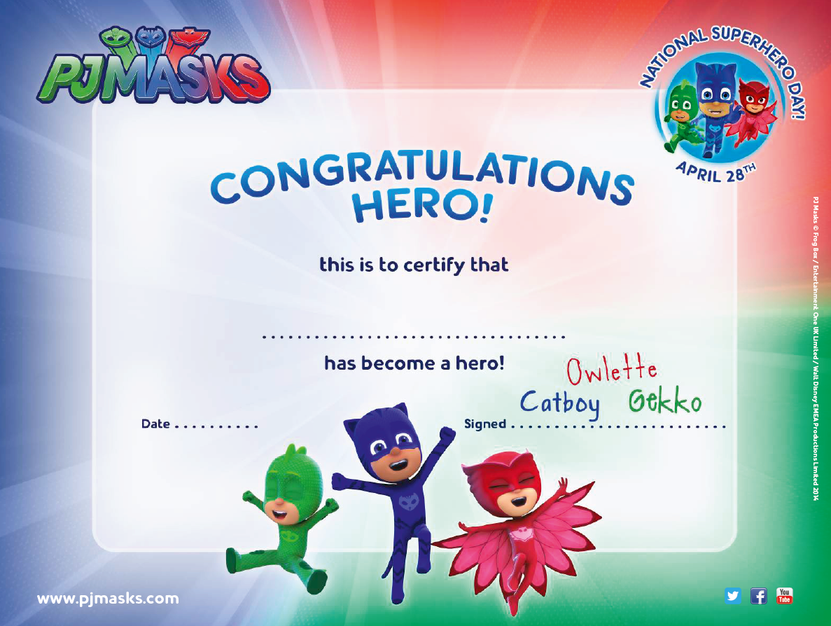 http://pjmasks.com/make/hero-certificate | PJ Masks ...
