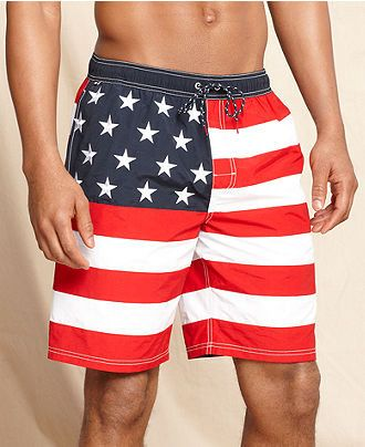 5467487a35 American Flag Bathing Suit | Wear your Flag Proud | Trunks swimwear ...