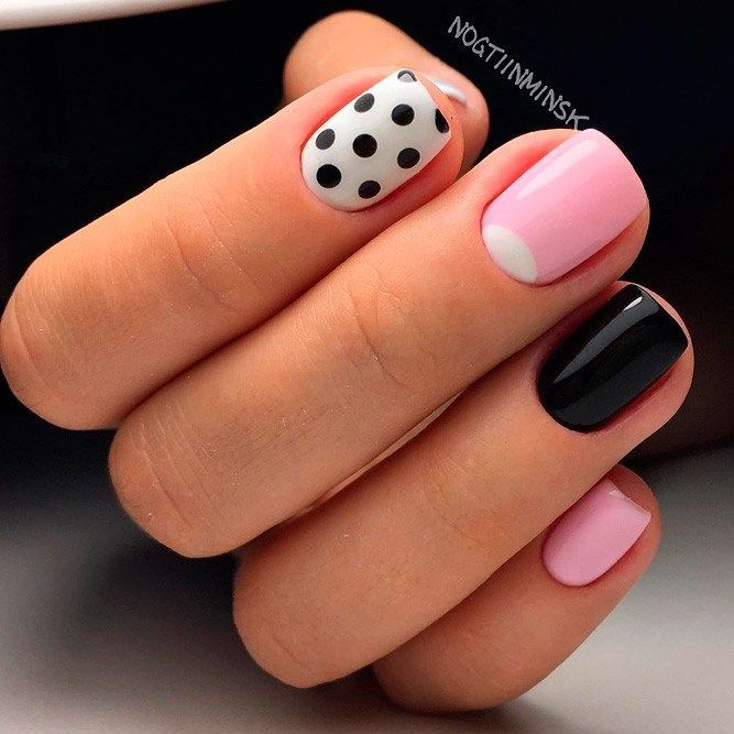 French Nail Designs Trends 2018 Pinterest