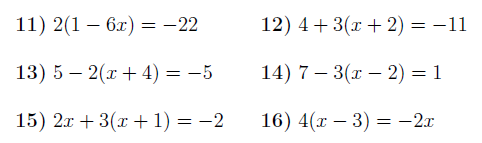 Linear Equations With Brackets Worksheet With Solutions Solving Equations Graphing Linear Equations Linear Equations