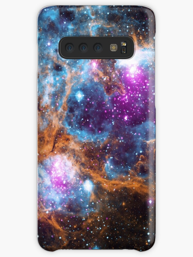 Available for iPhones and Samsung Galaxy phones A photo of a nebula taken by NASAs Hubble telescope The galaxys night time starry sky is colorized with orange magenta blu...