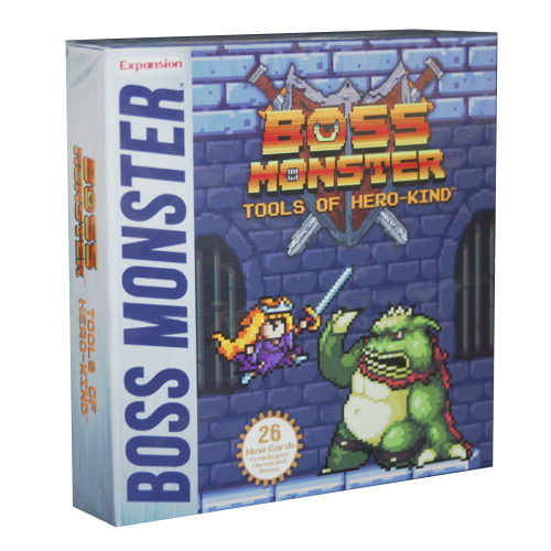 Boss Monster Tools of HeroKind Expansion Card Game