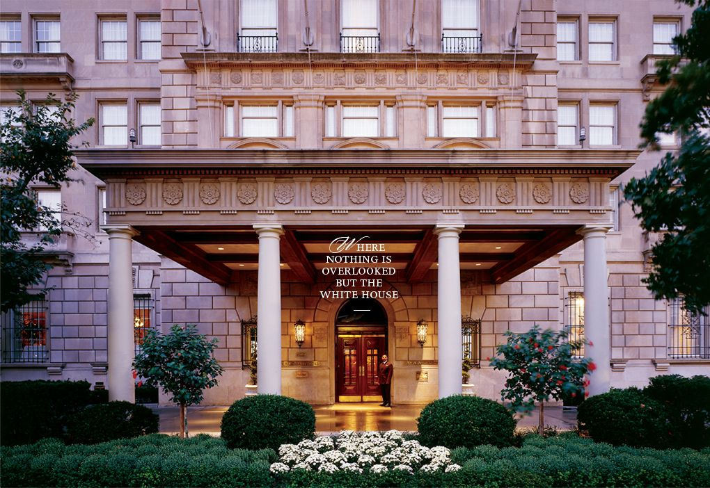 Downtown Washington Dc Luxury Hotels The Hay Adams Boutique Historic Near White