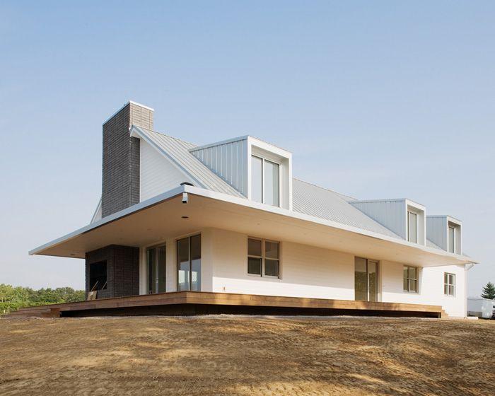 A modern farmhouse sanierung pinterest gaube for Nuove case coloniali