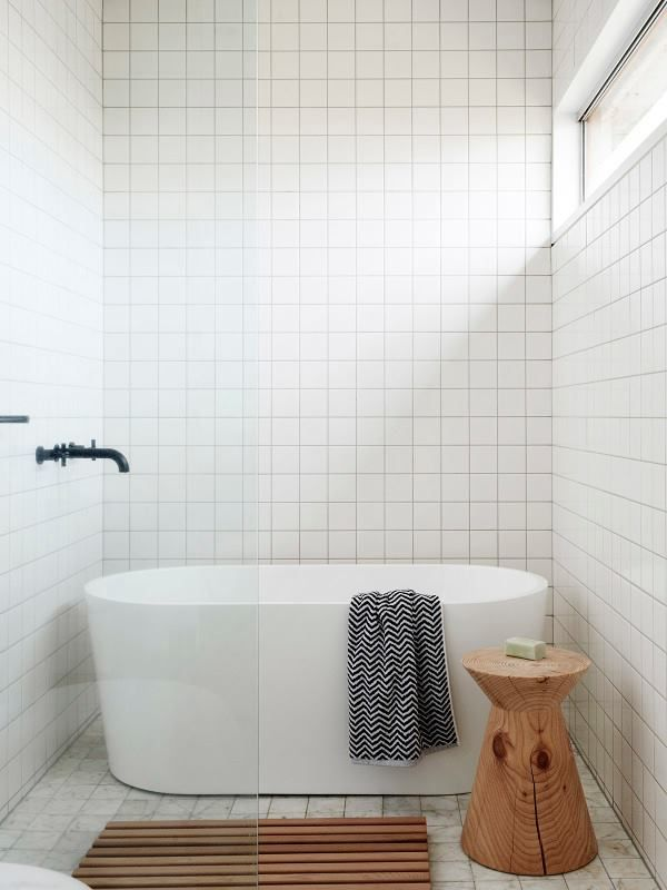 Like the all tile bathroom and the