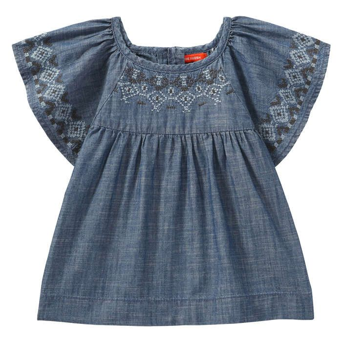 a068f017586 Toddler Girls  Chambray Blouse from Joe Fresh. Fall in love with our heart  print