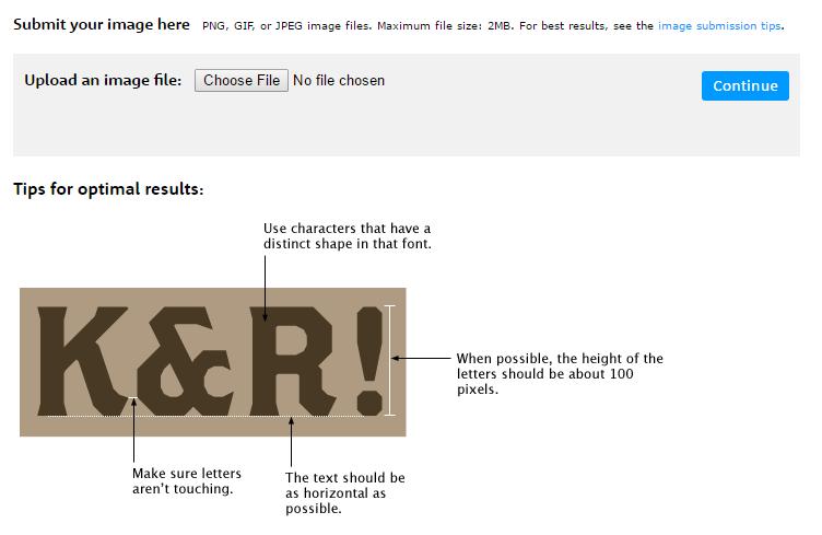 كيف تعرف إسم الخط المستخدم في صورة ما جينات المهوس Optimization Your Image Image
