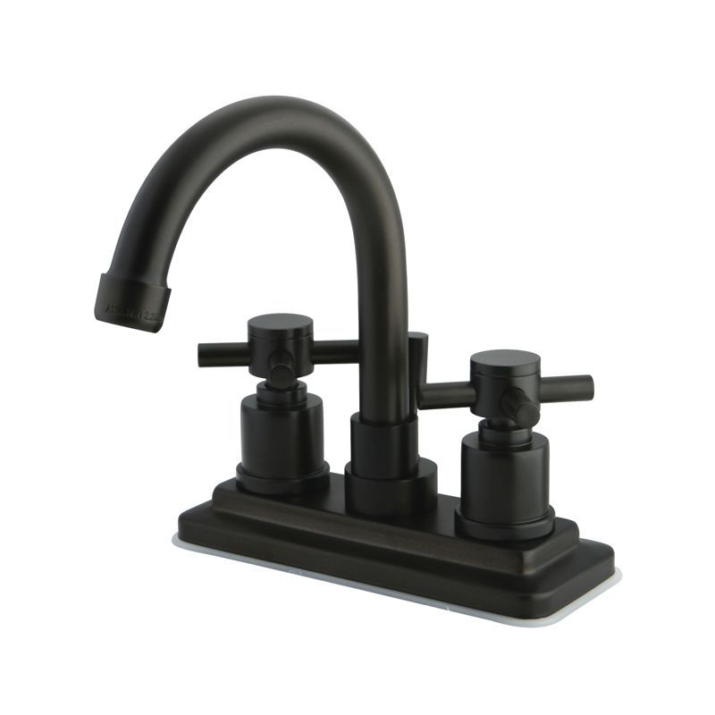 Kingston Brass KS866.DX Concord Centerset Bathroom Faucet with Brass ...