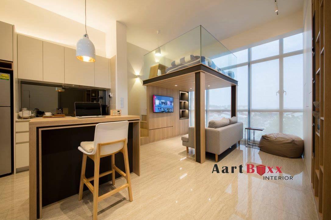 Studio Apartment Design At Stratum Condo With Images Condo