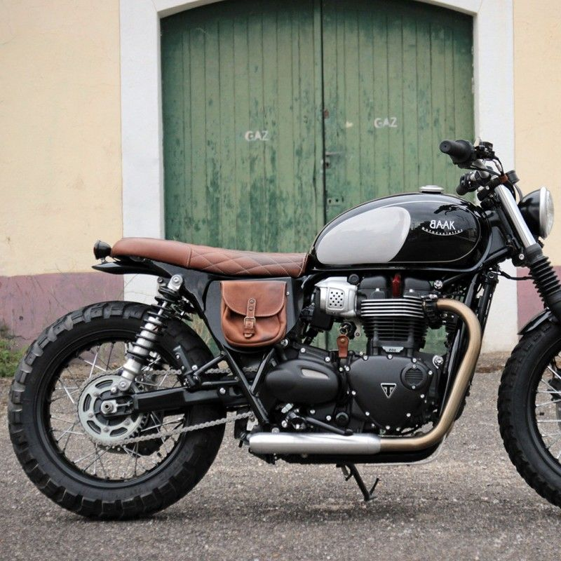 Image result for exhaust wrap on triumph street cup | Triumph Mods