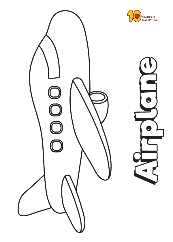 Airplane Coloring Page Airplane Coloring Pages Coloring Pages Airplane Drawing