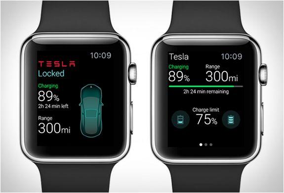 Tesla Apple Watch App Apple Watch Apps Tesla Apple Watch