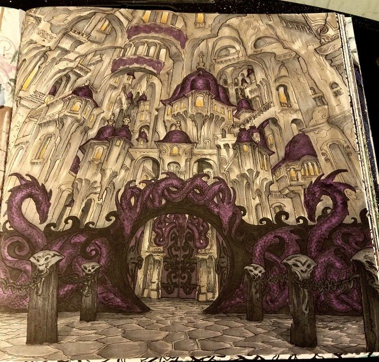 Acotar Coloring Book Acotar Coloring Book Pinterest Throne Of