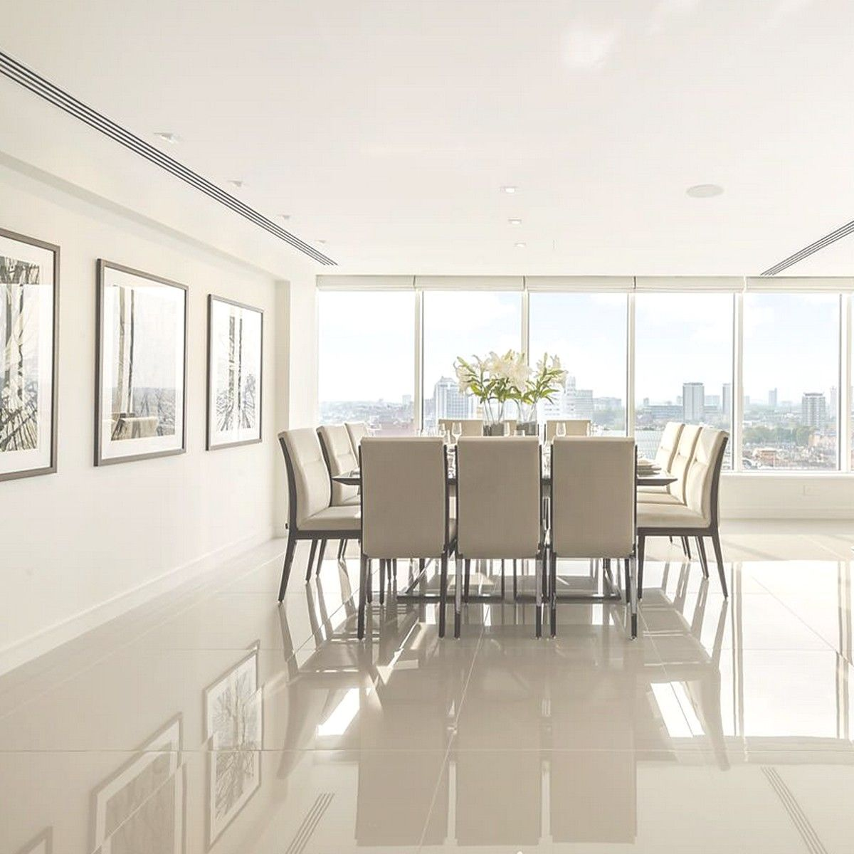 Like the look of a highgloss porcelain tile for the