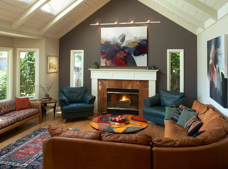 dare to be different 20 unforgettable accent walls on living room colors for walls id=94088