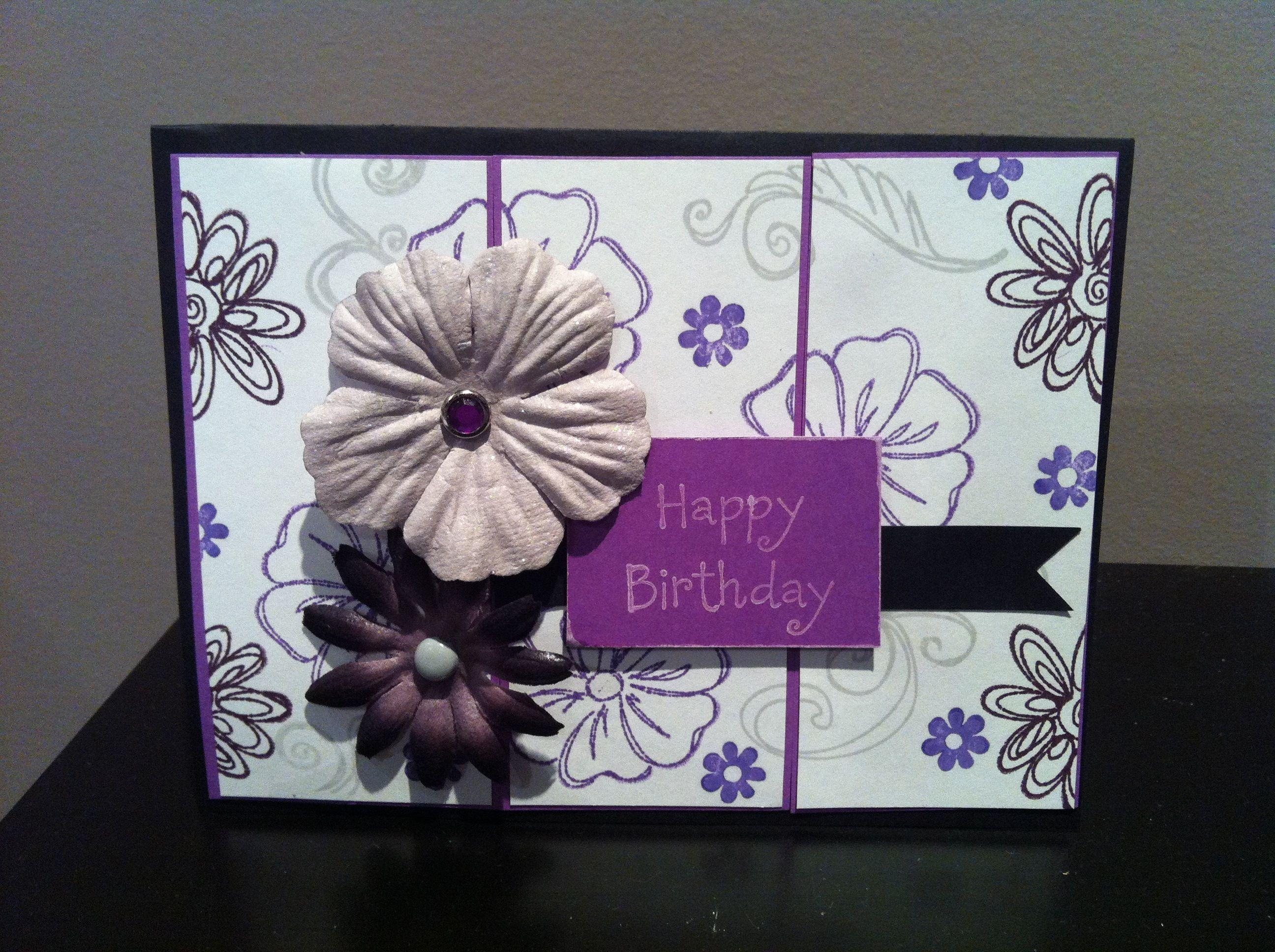 Elegant floral birthday card card ideas pinterest card ideas
