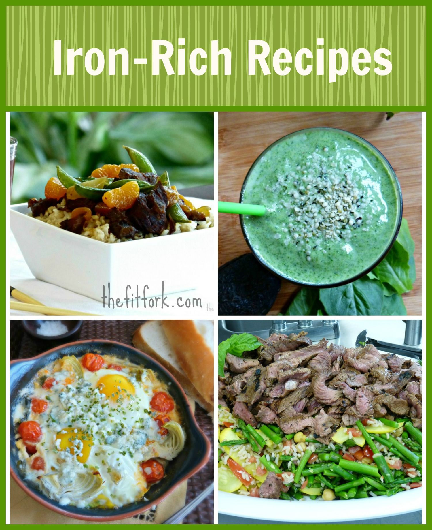 Anemia in runners healthy iron rich recipes iron rich recipes iron rich recipes for runners athletes pregnant women and everyone quick and healthy recipes from thefitfork forumfinder Gallery