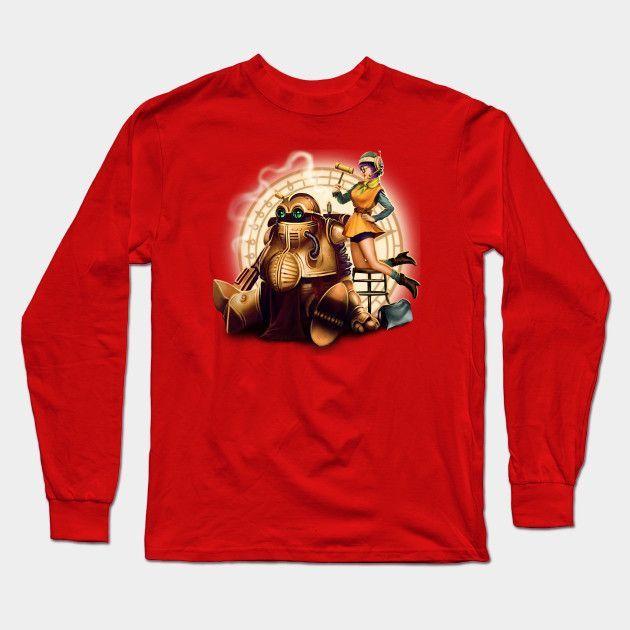 Lucca & Robo Long Sleeve T-Shirt