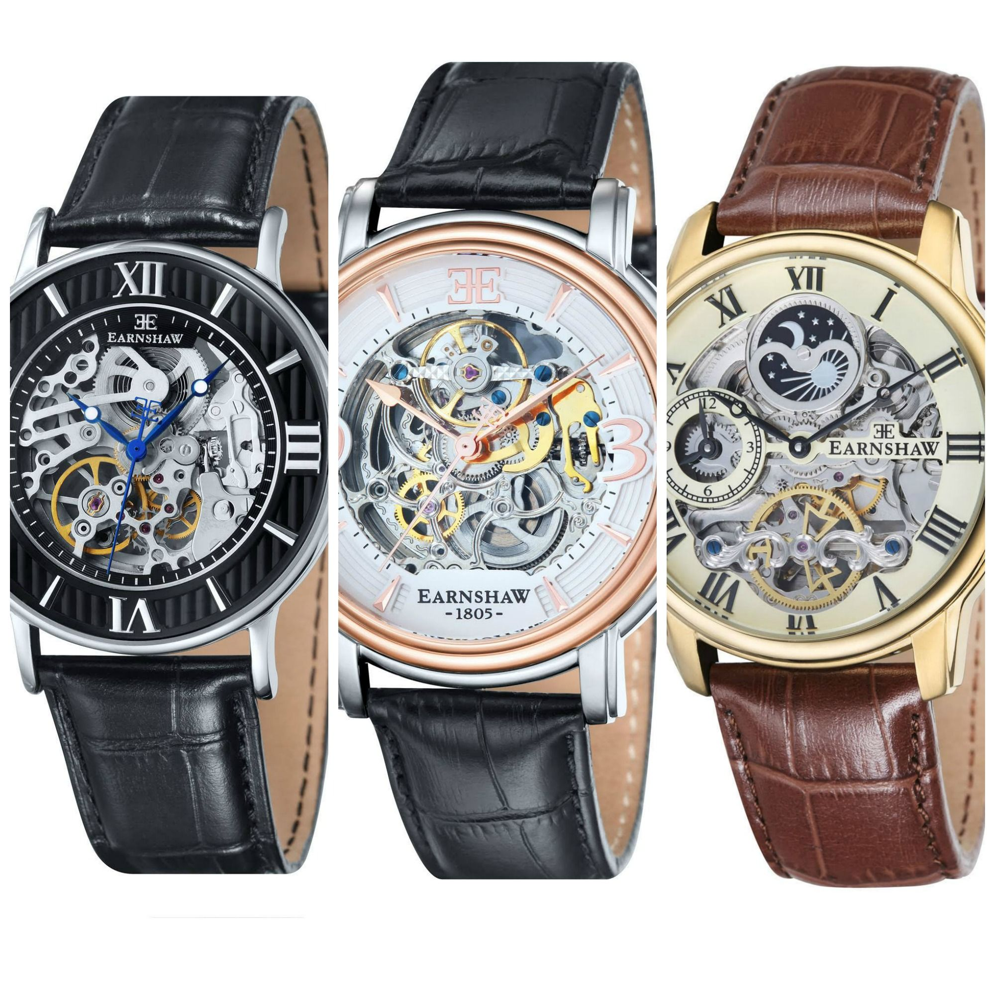 Top 8 Most Popular Thomas Earnshaw Skeleton Watches Under £100 ...