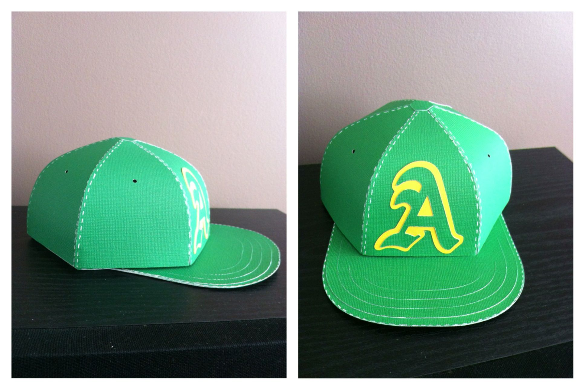 Baseball Hat Made Of Paper And Its A Box Svgcuts Gift Box Template Cricut Crafts Arts And Crafts For Kids